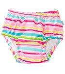 iPlay Girls' Mix 'N Match Ultimate Ruffle Snap Swim Diaper (3mos-3yr)
