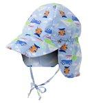 iPlay Boys' Cars Classics Flap Sun Protection Hat (0mos-4yrs)