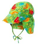 iPlay Boys' Jurassic Classics Flap Sun Protection Hat (0mos-4yrs)