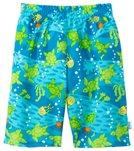 iPlay Boys' Turtle Classics Ultimate Swim Diaper Trunks (3mos-4yrs)