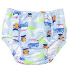 iPlay Boys' Cars Classics Ultimate Snap Swim Diaper (3mos-4yrs)
