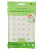 iPlay Disposable Compressed Wipes 30pk Refill