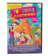 Wai Lana Little Yogis Fun Songs Cartoons DVD & Lyrics Book