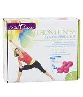 Wai Lana Fushion Fitness Dumbbell Kit-2lb Pair