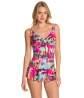 Ceeb Sunrise One Piece Swimsuit Skater Swimdress