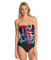 Ceeb Sunset Bandeau One Piece Swimsuit