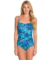 Ceeb Calypso Bandeau One Piece Swimsuit