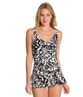 Ceeb Out of Africa One Piece Swimsuit Skater Swimdress