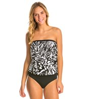 Ceeb Out of Africa Bandeau Blouson Bikini Top
