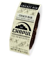 Chapul Cricket Energy Bar- Chaco (Single)
