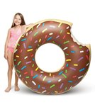Big Mouth Toys Chocolate Donut Pool Float