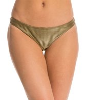 Sauvage Gold Metallic Full Low Rise Bottom