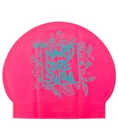 HARDCORESPORT Henna Latex Swim Cap