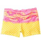 California Kisses Girls' Electric Youth Lace Waist Short (7yrs-14yrs)