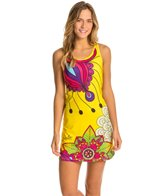 Triflare Women's Yellow Paisly Après Sport Dress