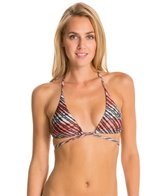 Vix Atoll Long Tri Crossed Halter Bikini Top