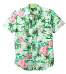 Maui and Sons Men's Aloha Nation Short Sleeve Shirt