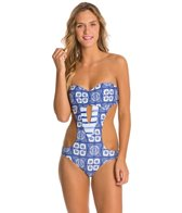 Roxy Tides of Way Cut Out One Piece