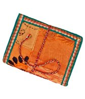 Homeport Textile Notebook Orange, Small