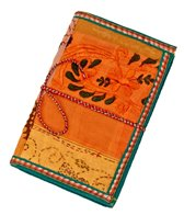 Homeport Textile Notebook Orange, Medium