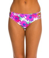 Motel Fuchsia Daisy Sunset Hipster Bikini Bottom
