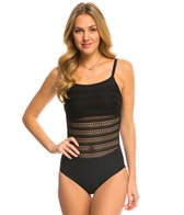Amoena Sofia Mesh Front Mastectomy One Piece Swimsuit