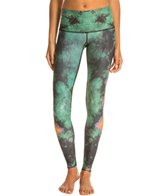 Teeki Eagle Feather Green Hot Pant