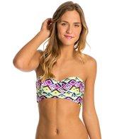 Hot Water Culture Club Underwire Bustier Bikini Top