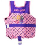 Body Glove Mermaid Side Zip Childrens USCG PFD