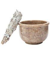 Shamans Market Soapstone Smudge Bowl
