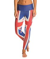 Om Shanti Clothing Union Jack Performance Legging