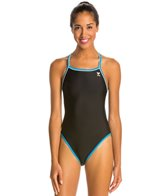 TYR Solid Brites Reversible Diamondfit One Piece Swimsuit