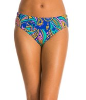 Triflare Women's Orange Medallion Bikini Bottom