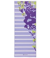 Gaiam Kids Yoga Mat Purple Flowers
