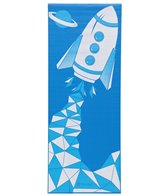Gaiam Kids Yoga Mat Blue Rocket