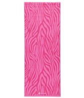 Gaiam Kids Pink Zebra Yoga Mat