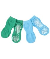 Gaiam Kids Yoga Socks Green/Blue Assortement