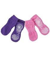 Gaiam Kids Yoga Socks Pink/Purple Assortement