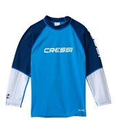 Cressi Boys' Rocks Long Sleeve Rashguard (7yrs-15yrs)