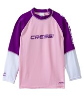 Cressi Girls' Rocks Long Sleeve Rashguard (7yrs-15yrs)