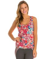 Maaji Hibiscus Blush Tank Top