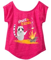 Roxy Girls' S'more Friends S/S Tee (2yrs-6X)