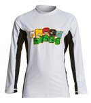 Angry Birds Boys' Stayin' Angry Long Sleeve Rash Guard  (4yrs-12yrs)