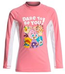 Angry Birds Stella Little Girls' Dare To Be You Long Sleeves Rash Guard (4yrs-10yrs)