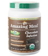 Amazing Grass Amazing Meal Raw Plant-Based Protein (15 Serving Canister)