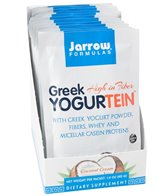 Jarrow Formulas Greek Yogurtein Protein Powder (12 Packets)