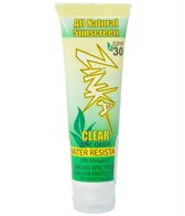 Zinka SPF 30 Clear Zinc Oxide All Natural Sunscreen 1 oz.
