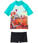 Tiger Joe Boys' Cactus Head Rashguard Set (6mos-8yrs)