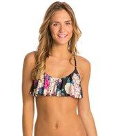 MINKPINK Secret Garden Frill Bikini Top