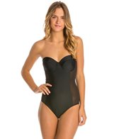 MINKPINK Black Dahlia One Piece Swimsuit